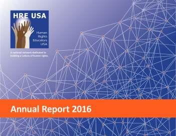 HRE USA annual report
