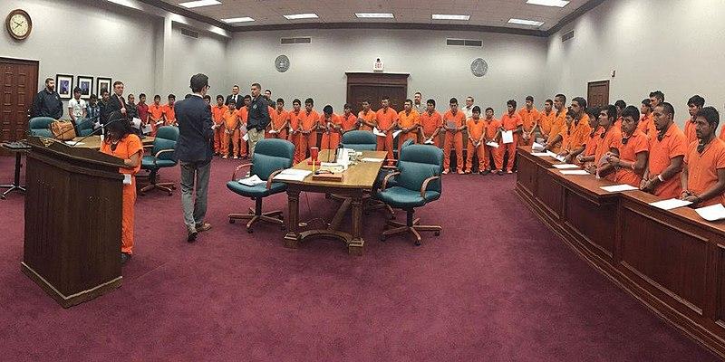 mass trial