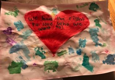"""CASSANDRA GONZALEZ 2nd Grade """"Love is Love"""""""
