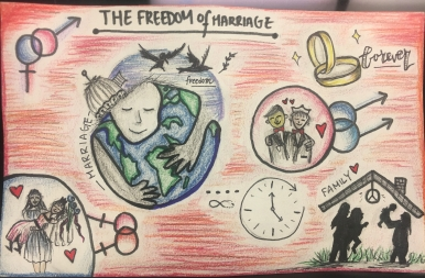 """Jane Dickerson 5th Grade """"Freedom of Marriage"""""""