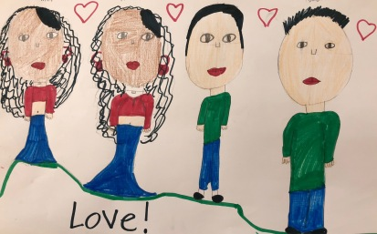 "MILEY SIGNALA VALENZUELA 2nd Grade ""Together Love Family"""