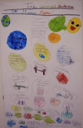 "SANHISNU SANTHOSH 4th Grade ""The Universal Declaration of Human Rights"""