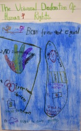 "SASANTH SANTHOSH Kindergarten ""Human Rights"""